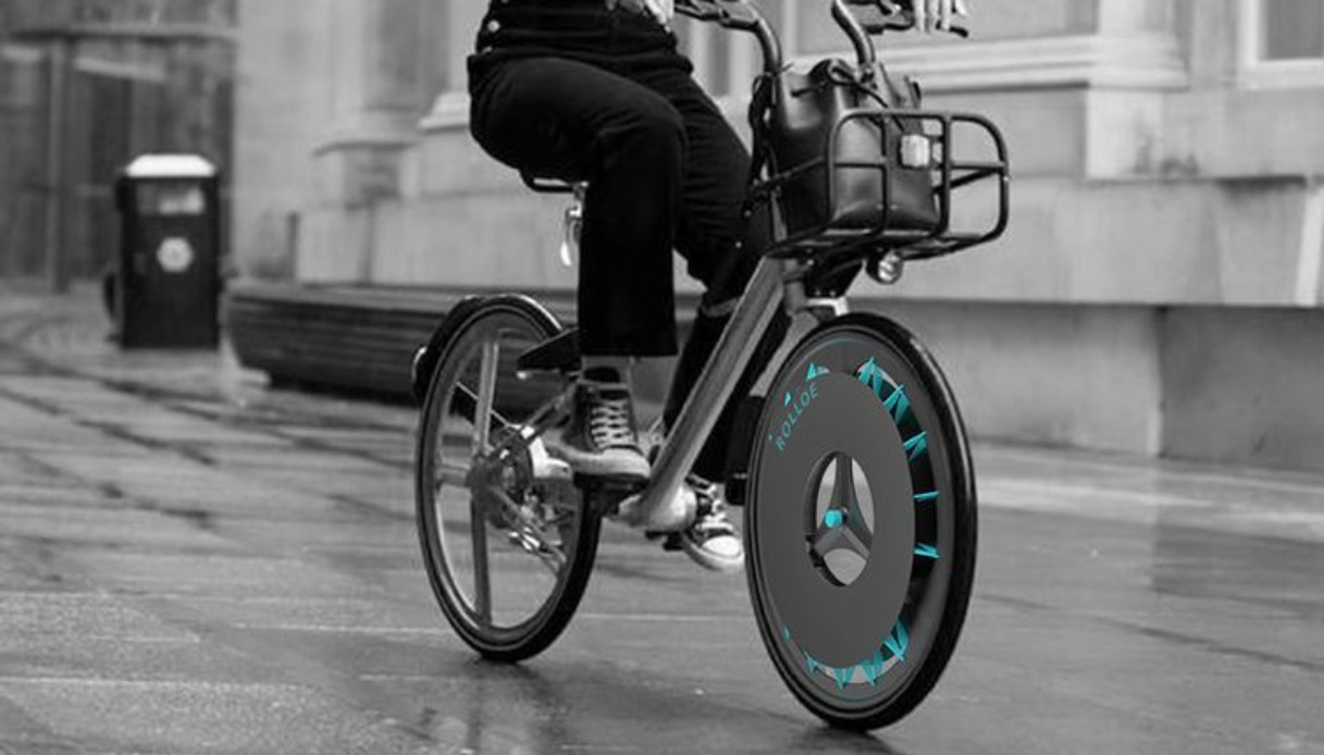 bicicleta ecológica rolloe