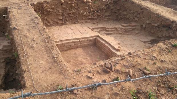escavações do templo budista liderado por mulher