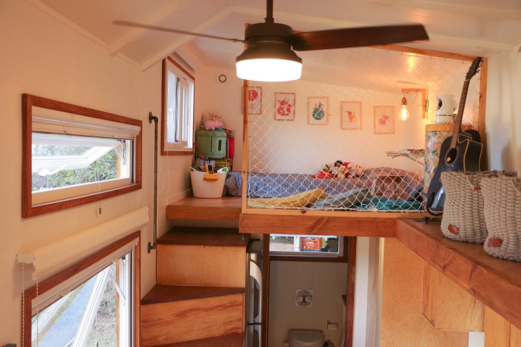 interior de tiny house