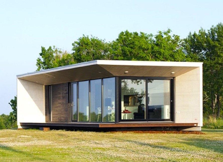 Passion House M1 do Architect 11 é uma das casas que se encaixa em dois dias