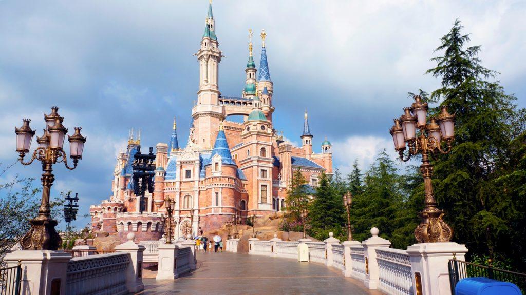 Wald Disney representando arquitetura do lazer