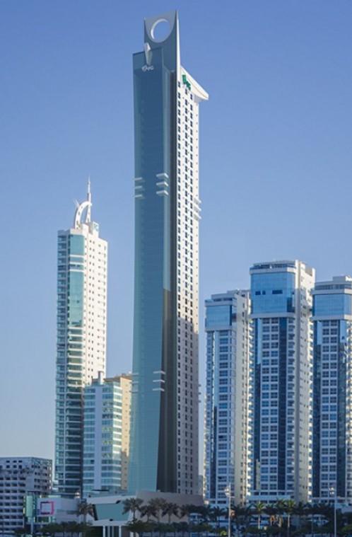 Fachada do edificio Epic Tower