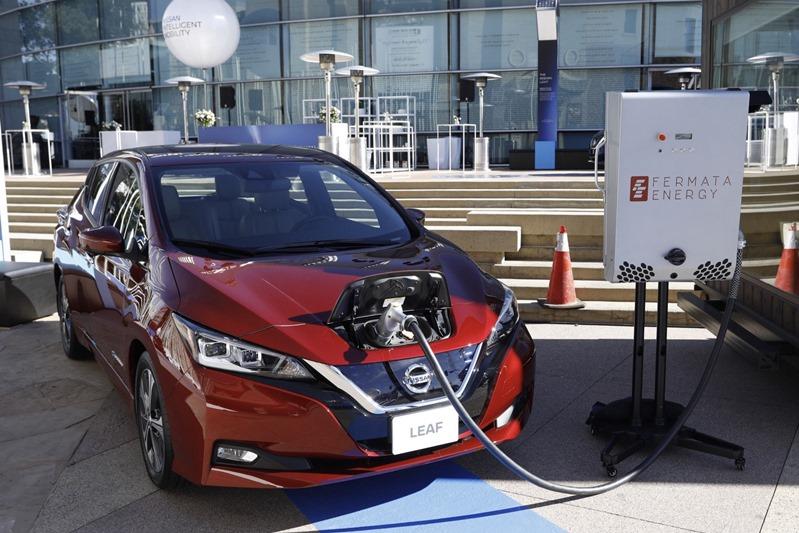 Leaf, carro totalmente elétrico da Nissan