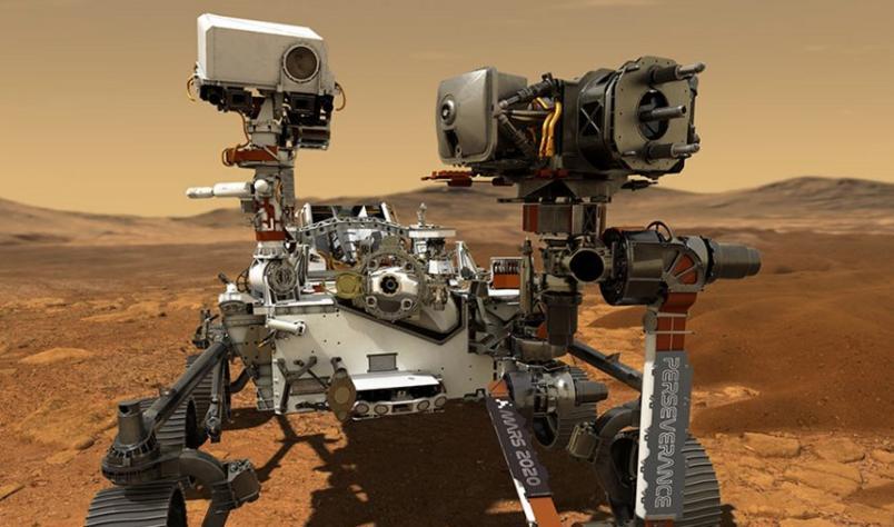 Entenda como o robô Perseverance envia imagens de Marte