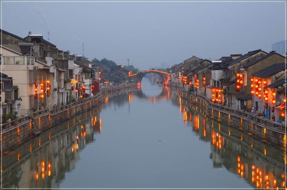 Imagem do grande canal da china