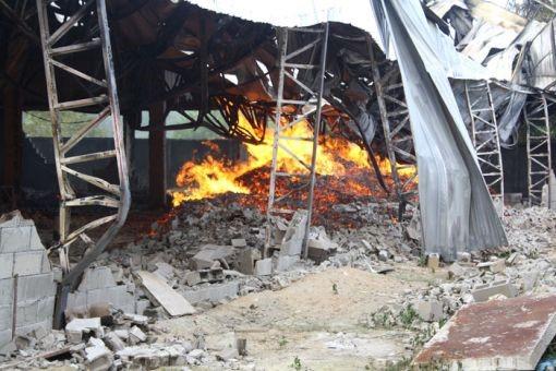 incêndio em estrutura