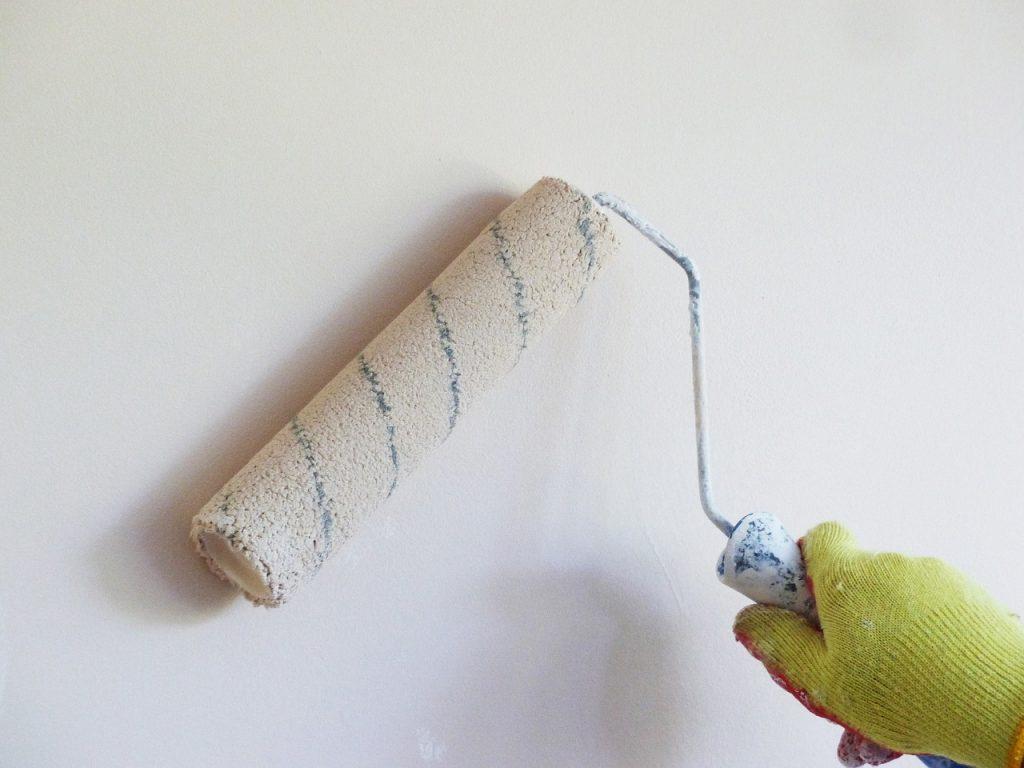 revestimento e pintura de parede