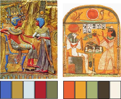 imagem de faraós antigos