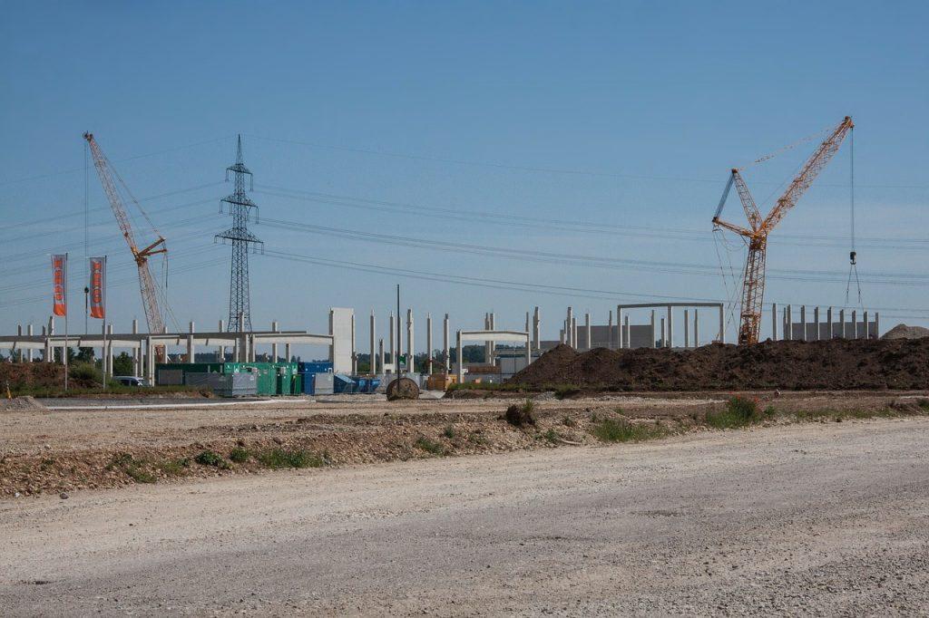 pré-moldado em construção civil