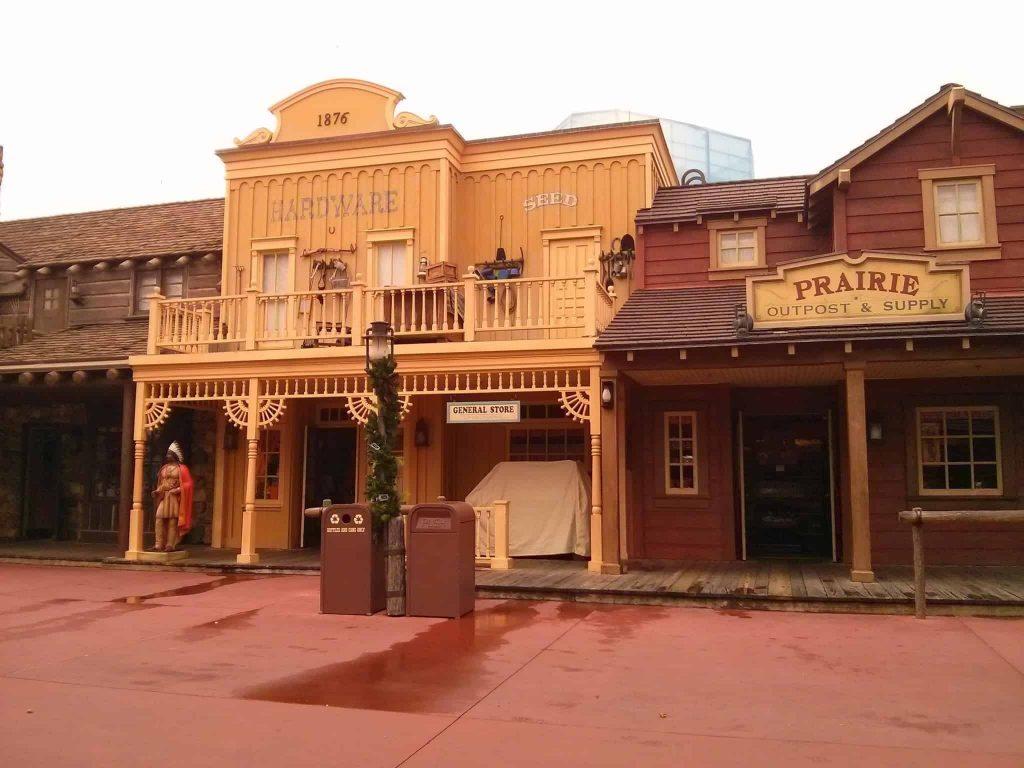 Frontierland Disney
