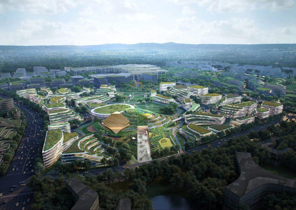 cidade sem carros projeto Cidade da Ciência e Tecnologia do Futuro
