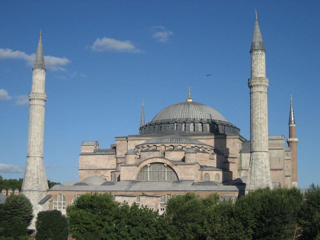 Fachada de igreja estilo bizantino