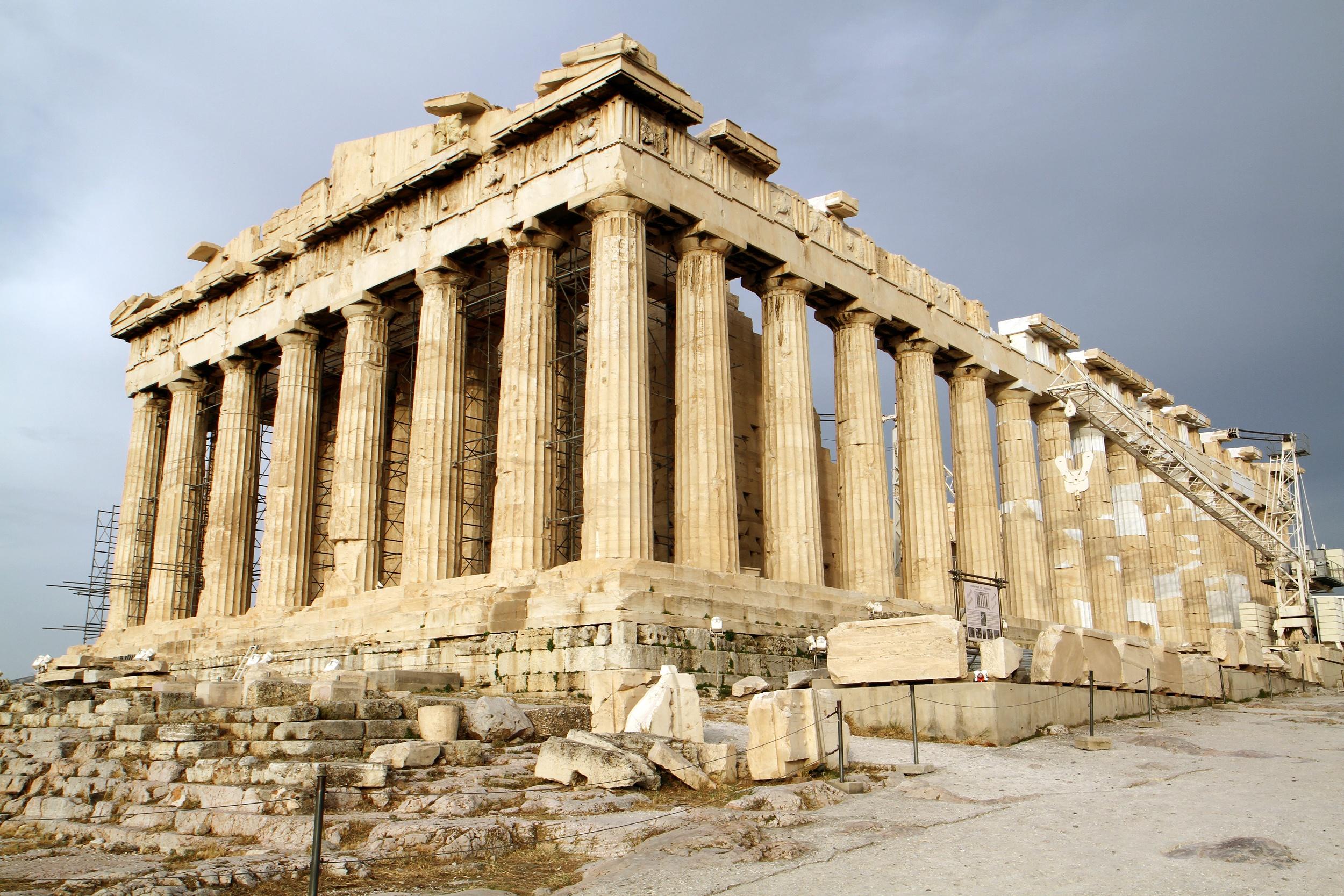 arquitetura da antiguidade