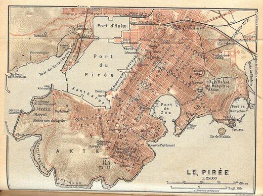 arquitetura da antiguidade Planejamento de Pireu
