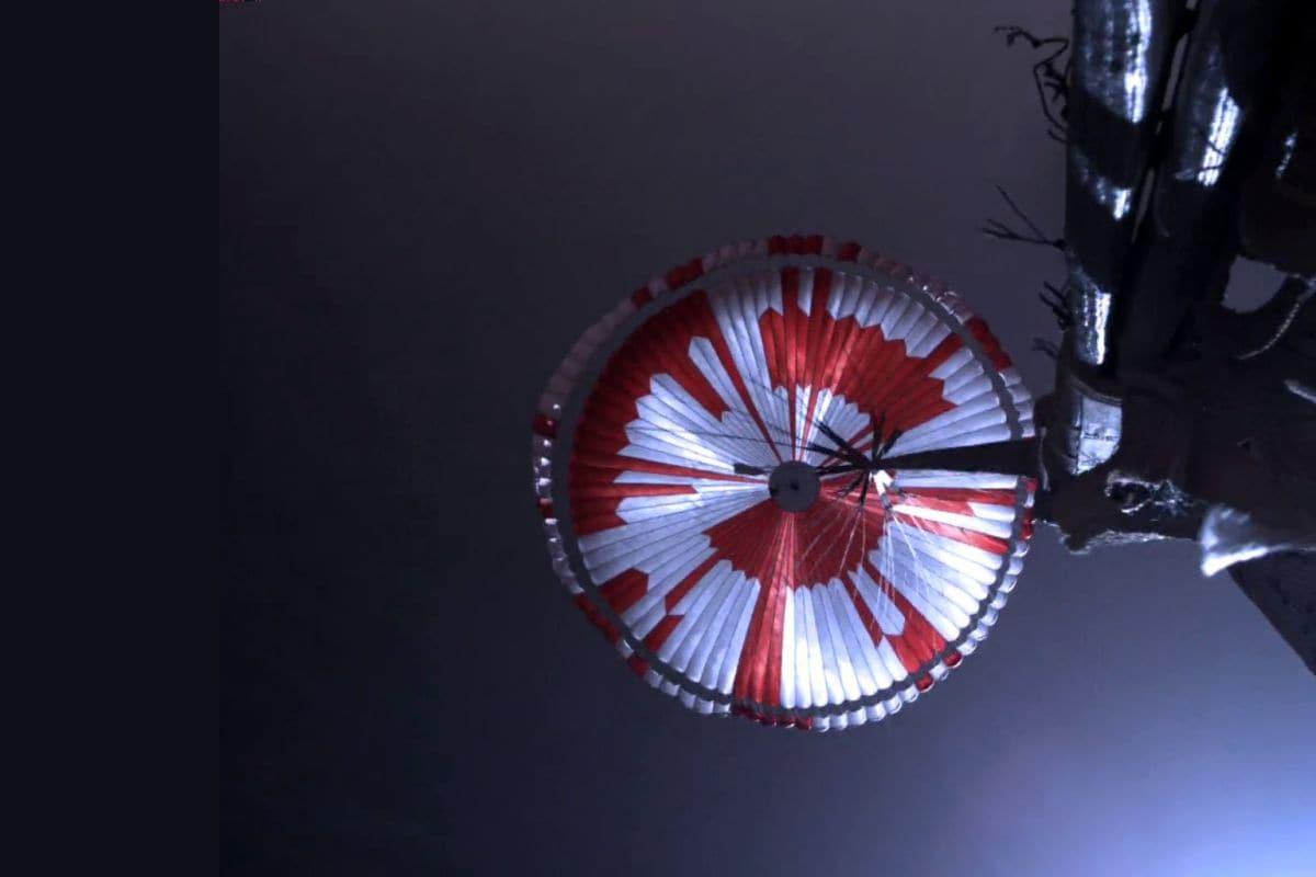 Paraquedas de Perseverance