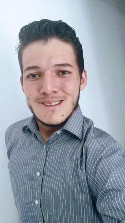 O engenheiro João dos Anjos, 27 anos.