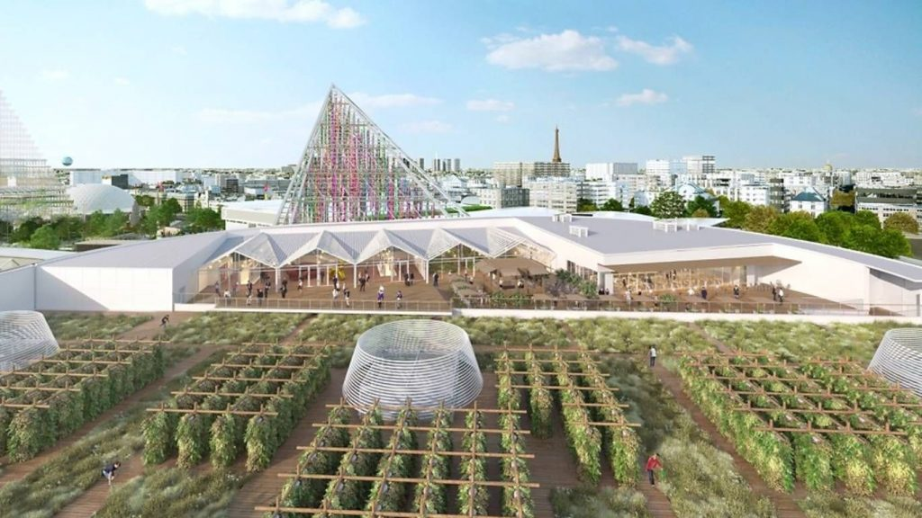 Nature Urbaine exemplo de hortas urbanas