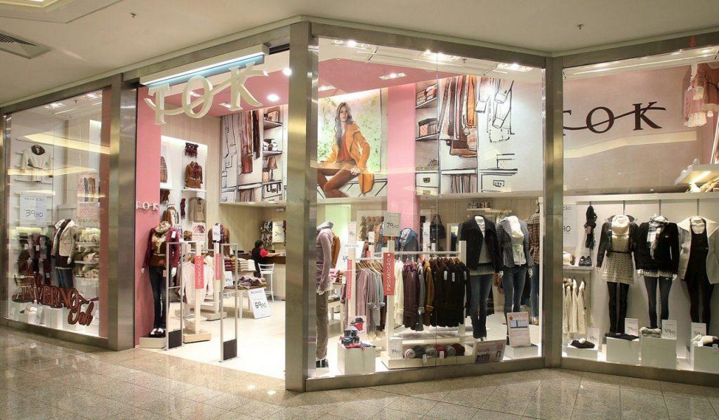 Fachada lojas TOK representando arquitetura comercial