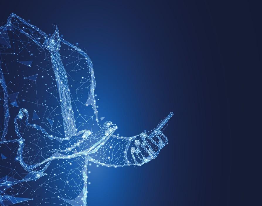 imagem ilustrativa de holograma