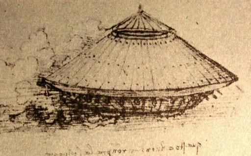 Carro armado idealizado por Leonardo da Vinci