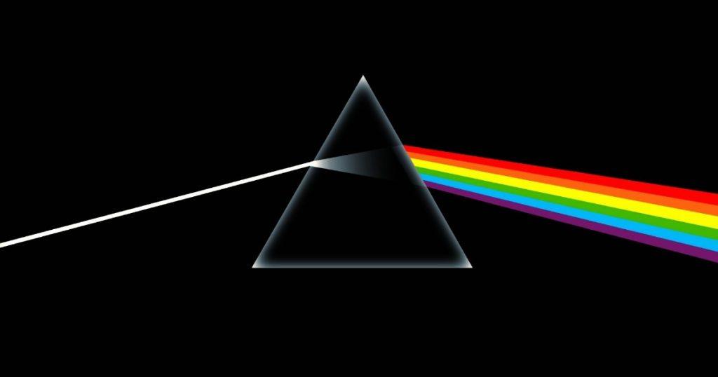 """Capa do álbum """"The Dark Side of the Moon"""" do Pink Floyd"""