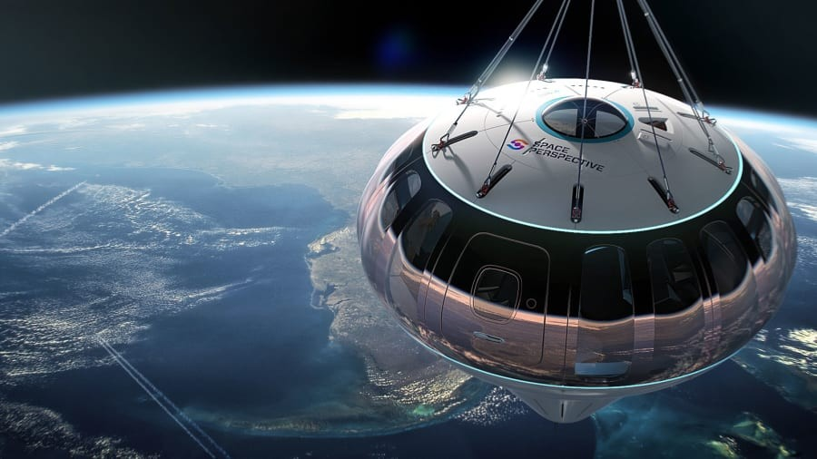 Imagem: https://www.spaceperspective.com/