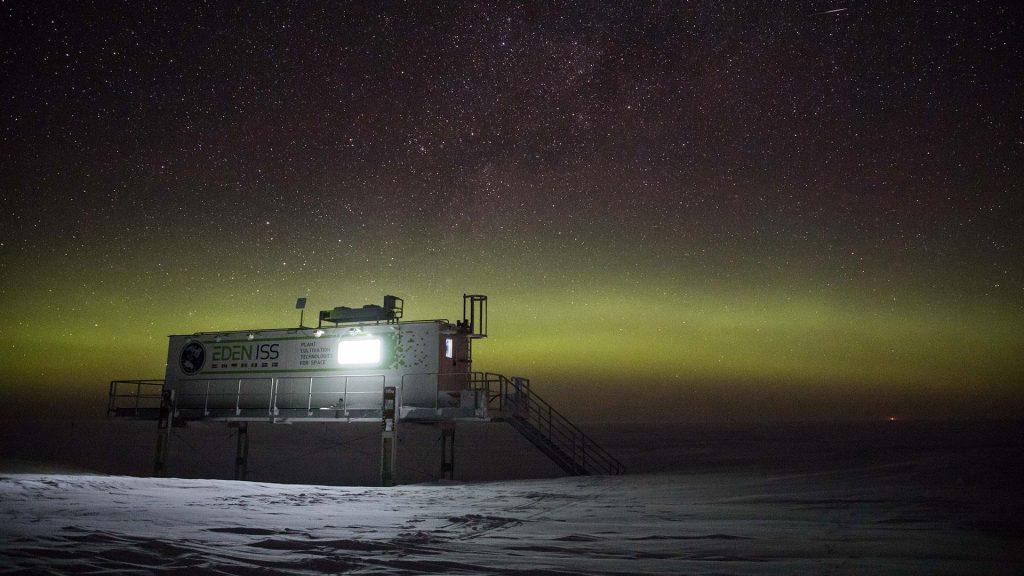 estufa Antártida