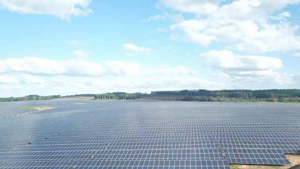 complexo de energia solar