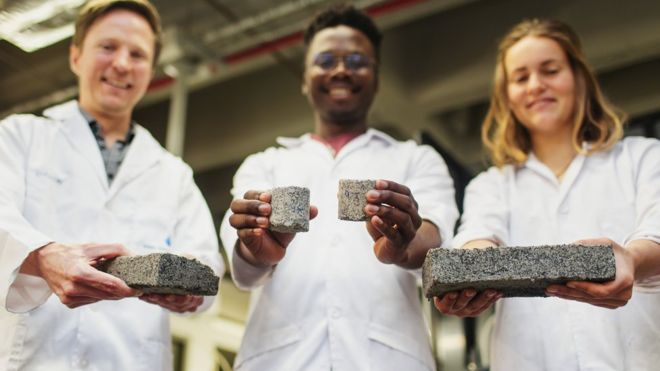 tijolo ecológico a partir de urina humana